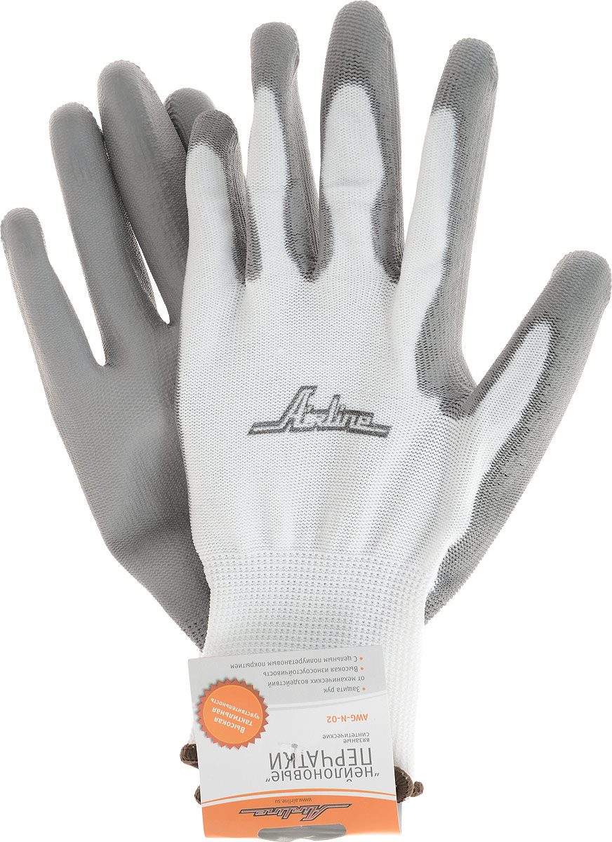 Перчатки нейлоновые Airline, 1 параAWG-N-02Благодаря тонким и прочным синтетическим нитям эти перчатки практически не снижают чувствительность пальцев, и могут быть использованы при работе, требующей высокой точности движения. Перчатки имеют полиуретановое покрытие, дополнительно защищающее руки от повреждений и обеспечивающее хорошее сцепление с инструментом и рабочими поверхностями.УВАЖАЕМЫЕ КЛИЕНТЫ!Обращаем ваше внимание на возможные изменения в дизайне товара, связанные с ассортиментом продукции. Поставка осуществляется в зависимости от наличия на складе.