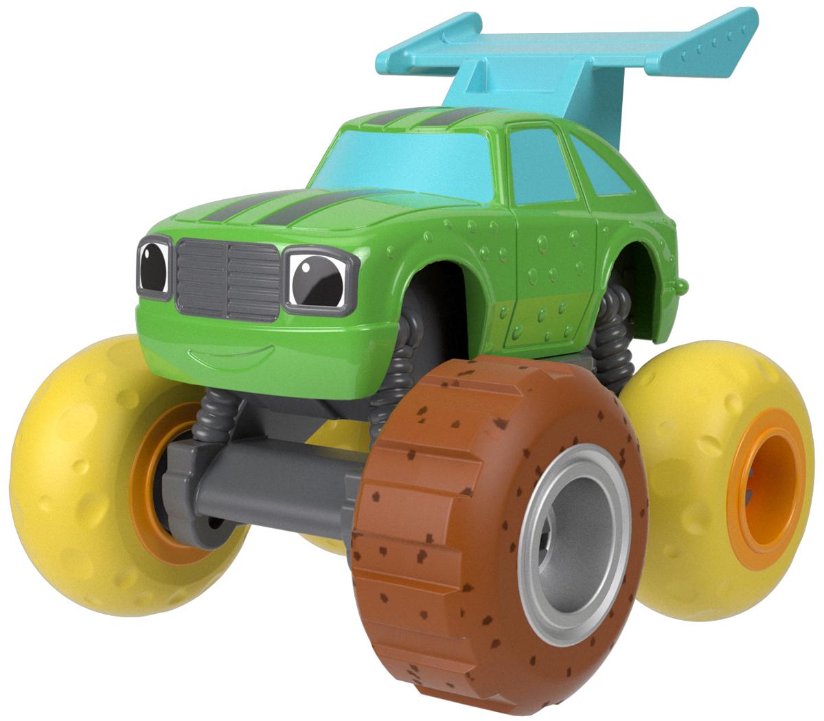 Blaze Машинка Вспыш Машинки с тюнингованными шинами цвет зеленый FHV37_FHV39