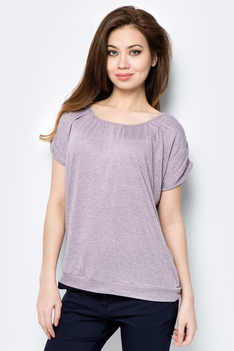 Блузка женская Sela, цвет: фиолетовое вино. TsBK-111/974-8192. Размер XS (42) fotoniobox лайтбокс nyc 2 25x25 110
