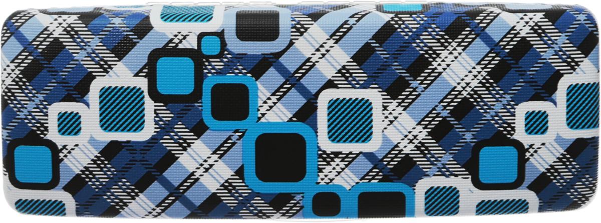 Proffi Home Футляр для очков Fabia Monti, цвет синий, белый, черный, 5,5 х 16 смPH6730_белый, голубой, черный, синий,серыйСтильный футляр для очков Proffi Home Fabia Monti выполнен из экокожи. Внутренняя часть изделия оформлена мягким бархатистым материалом. Такой футляр станет замечательным подарком человеку, ценящему качественные и полезные вещи.