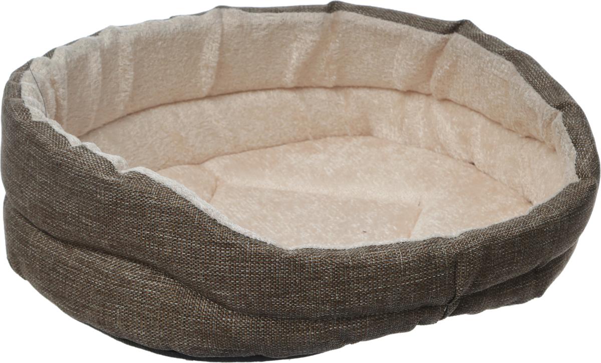 Лежак для собак GLG Малютка, цвет: серый, бежевый, 37 х 30 х 11 смL005/AМягкий лежак GLG Малютка обязательно понравится вашему питомцу. Он выполнен извысококачественных материалов. Такие материалы не теряют своей формы долгое время. Лежак оснащен мягкой подстилкой. Высокие бортики обеспечат вашему любимцу уют. Мягкий лежак станет излюбленным местом вашего питомца, подарит ему спокойный и комфортный сон, а также убережет вашу мебель от шерсти.