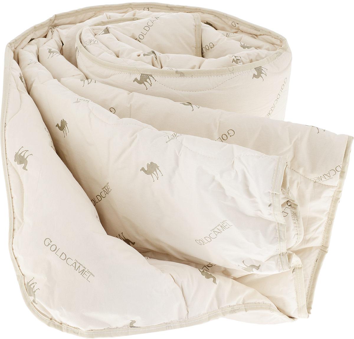 Одеяло Fashion Fantasy, наполнитель: верблюжья шерсть, цвет: бежевый, 200 х 220 см183380Чехол одеяла Fashion Fantasy выполнен из перкаля.Наполнитель - верблюжья шерсть. Одеяло простегано - значит, наполнитель внутри будет всегда распределен равномерно.Идеально подойдет тем, кто ценит мягкость и тепло.Размер: 200 х 220 см.