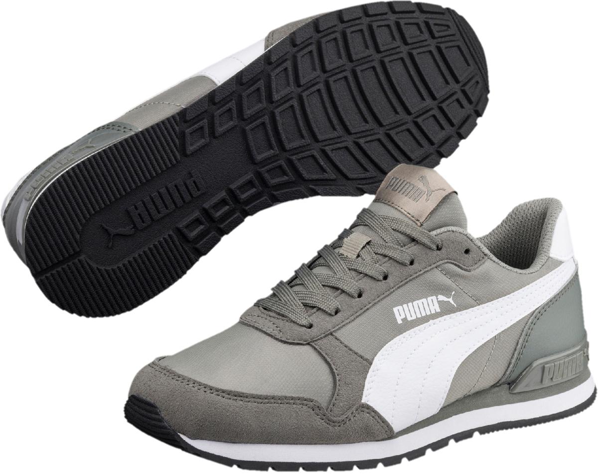 Кроссовки детские Puma ST Runner v2 NL Jr, цвет: светло-серый. 36529302. Размер 6 (38) кроссовки nike кроссовки md runner 2