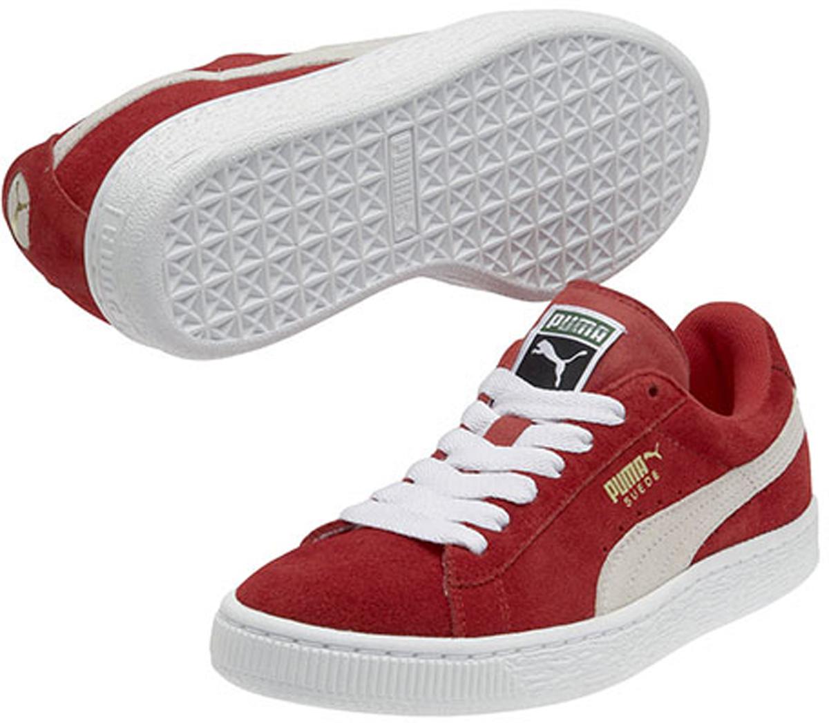 Кеды детские Puma Suede Jr, цвет: красный. 355110031. Размер 6 (38)355110031Без сомнения самая известная и популярная модель PUMA произвела в своё время настоящую революцию в мире спортивной обуви, заслуженно войдя во все возможные залы славы. Везде и всегда Suede от PUMA в самой гуще исторических событий! В культурном смысле эта модель стала первой ласточкой вплеснувшегося на улицы брейк-данса и хип-хопа. И в этом сезоне она возвращается! Культовая модель Suede Classic представлена сегодня в традиционном варианте с верхом из мягкой замши насыщенных цветов и нарядным сплошным белым рантом с прошивкой. На месте и оригинальный логотип PUMA. Кроме того, точные копии знаменитых кед Suede Classic выпускаются в детской шкале размеров.