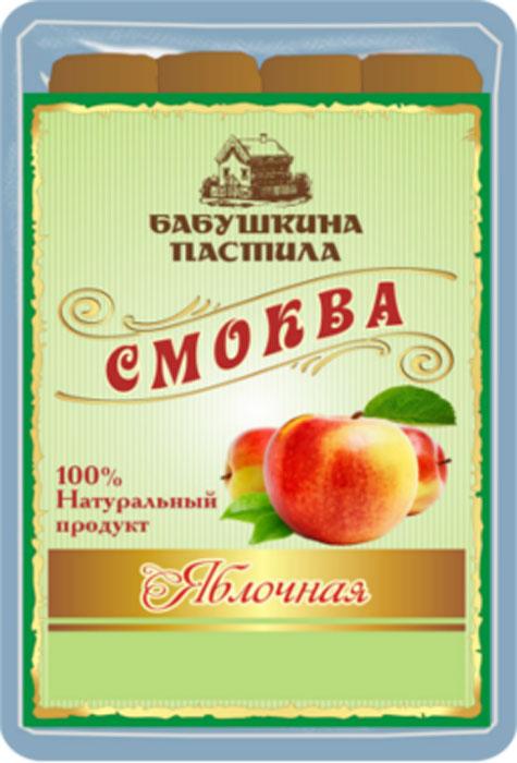 Бабушкина пастила Смоква яблочная, 50 г