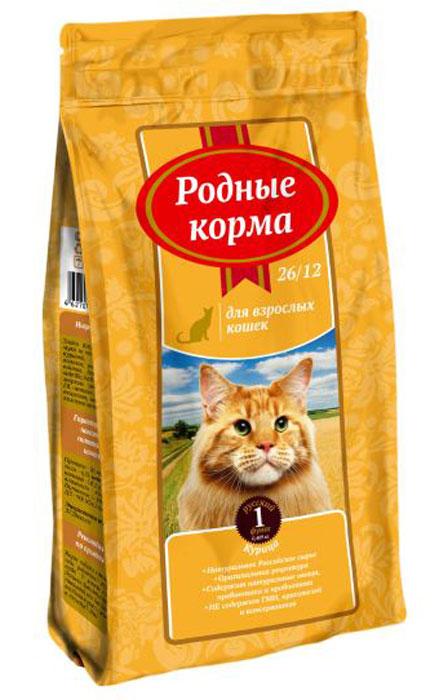 Корм сухой Родные Корма, для взрослых кошек, курица, 409 г66379Ингредиенты: обезвоженное мясо птицы 26%, пшеница, кукуруза, жир куриный, пшеничные волокна, печень гидролизованная, дрожжи, пробиотический комплекс Bacillus subtillis, Bacillus licheniformis, морковь сушенная, лизин, DL-метионин, минеральные вещества, антиоксиданты, комплекс витаминов, таурин.Гарантируемые показатели питательной ценности:Протеин — 26%, жиры – 12%, зола – 6,5%, клетчатка – 3%, кальций — 1,4%, фосфор – 0,9%, влажность не более — 10%, витамины: А – 10 000 МЕ/кг, Д3 — 900 МЕ/кг, Е — 100 мг/кг. Энергетическая ценность: 3720 ккал/кг. Рекомендации по применению: корм подается в сухом виде или размоченный в теплой воде. У животного всегда должен быть доступ к свежей питьевой воде. Корм следует вводить в рацион постепенно в течение 7-10 дней. Рекомендуемое количество сухого корма в день, г. Вес взрослого животного, кг Норма кормления ,г. 1-2 38-58 2-3 55-75 4-5 95-115 6-7 125-145 8-10 155-175 Рекомендуемое количество корма в день является ориентировочным и может меняться в зависимости от индивидуальных особенностей животного, времени года и физической активности. Условия хранения: хранить в сухом месте при температуре 0 +35С и относительной влажности воздуха не более 75% . Беречь от солнечных лучей и влаги.Срок годности: 18 месяцев с даты выработки.Корм не содержит искусственных красителей, ароматизаторов, ГМИ. ГОСТ Р 55453-2013Произведено:ООО «Лимкорм»309290, Белгородская обл, г. ШебекиноРжевское шоссе 29А.Знаки на упаковку: РСТ, пелтя мебиуса, беречь от влаги и солнечных лучей.