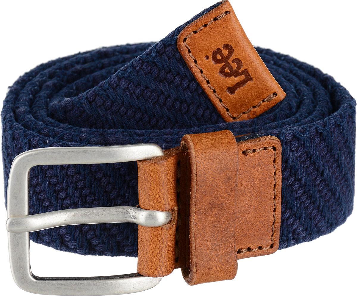 Ремень мужской Lee, цвет: синий. LL3208FE. Размер 85