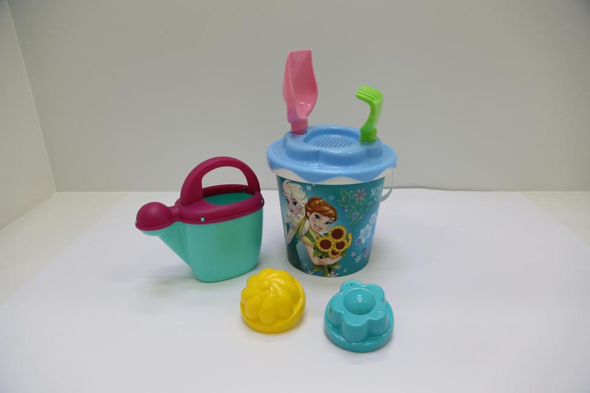 Disney Набор игрушек для песочницы Холодное сердце №12 полесье набор для песочницы 469