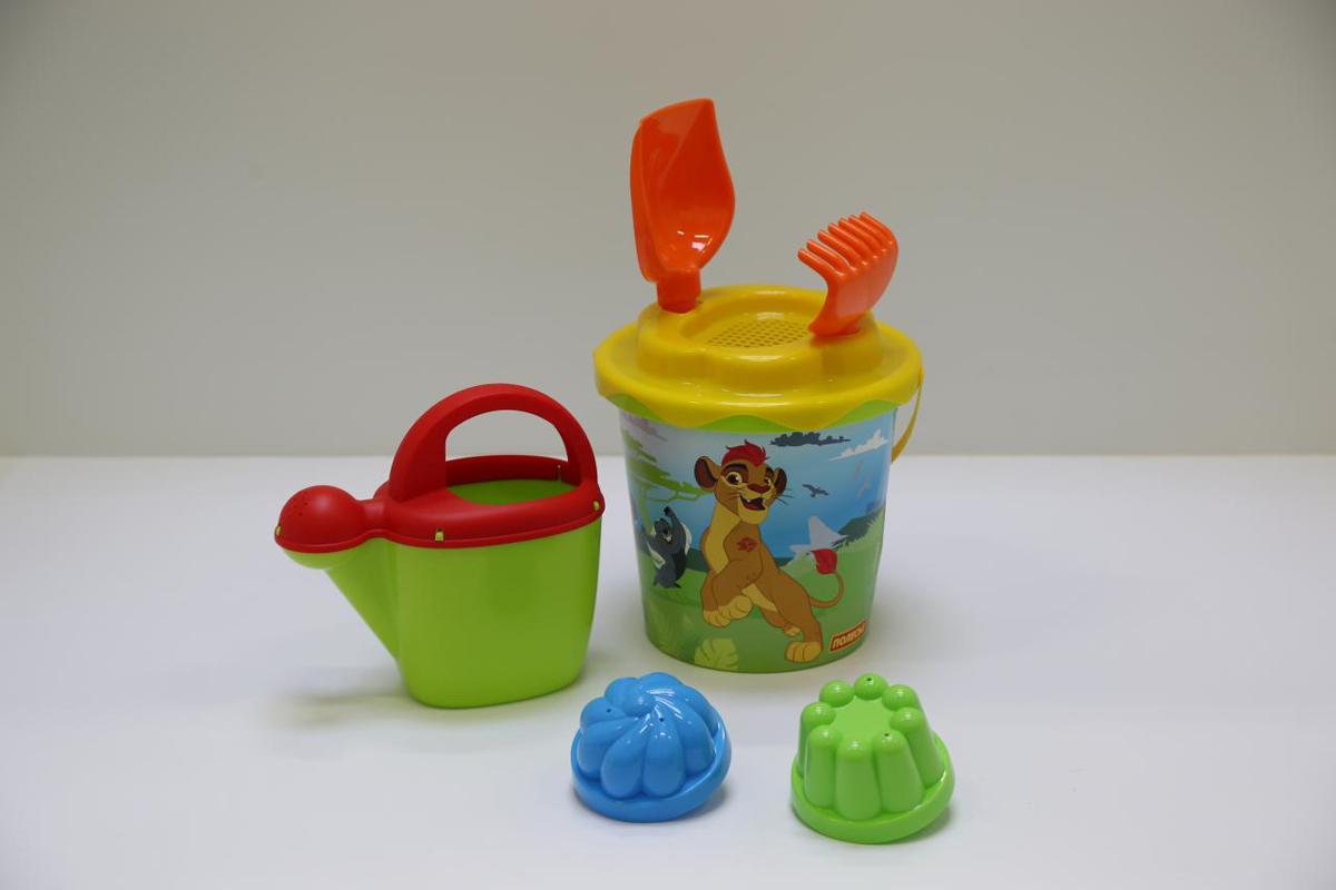 Disney Набор игрушек для песочницы Хранитель Лев №9 полесье набор для песочницы 469