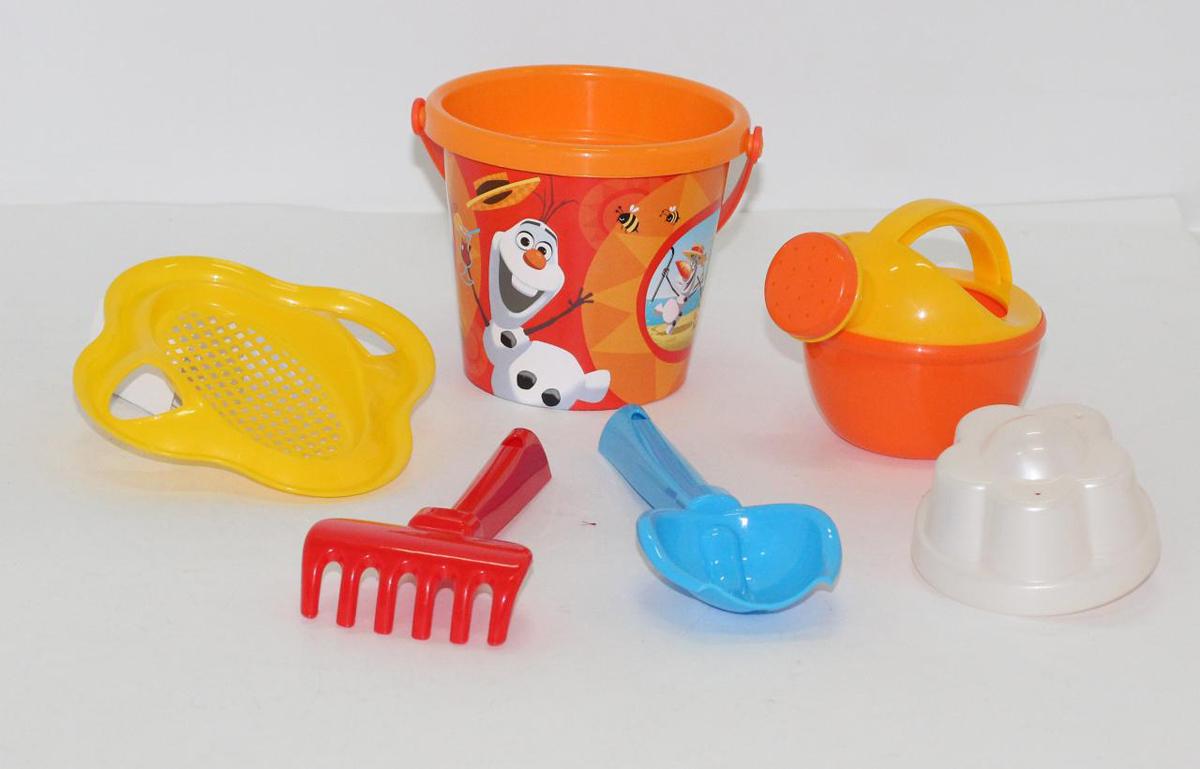 Disney Набор игрушек для песочницы Холодное сердце №4