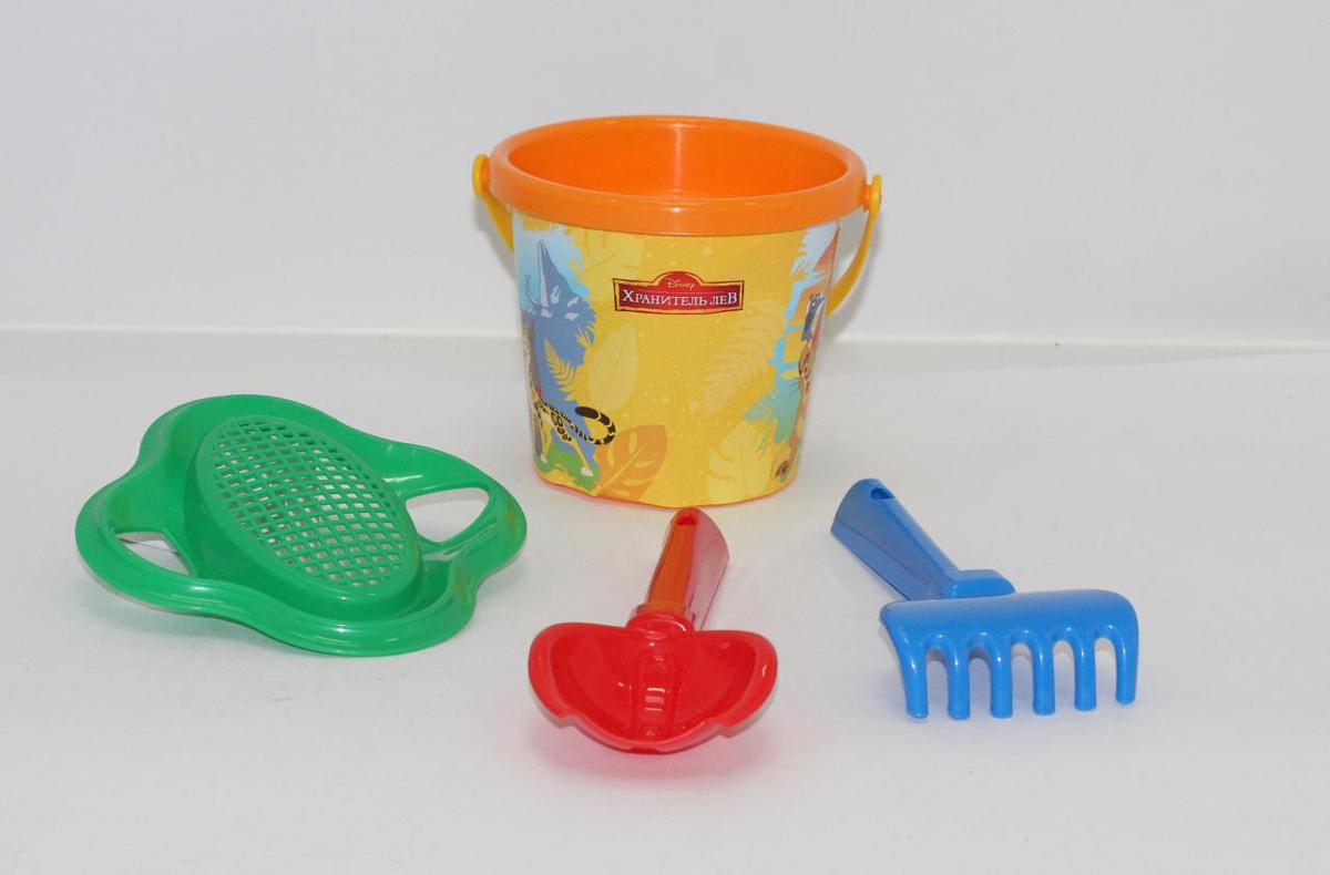 Disney Набор игрушек для песочницы Хранитель Лев №2 полесье набор для песочницы 469