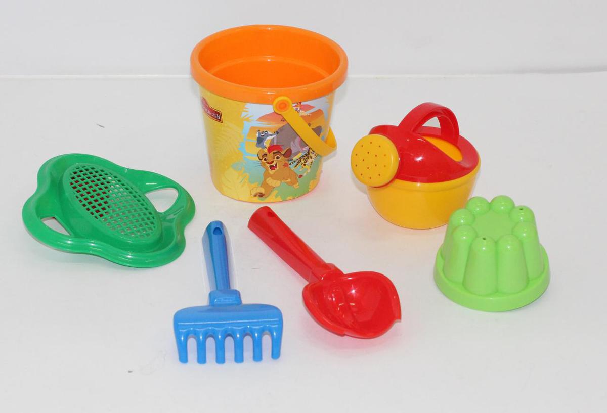Disney Набор игрушек для песочницы Хранитель Лев №3 полесье набор для песочницы 469