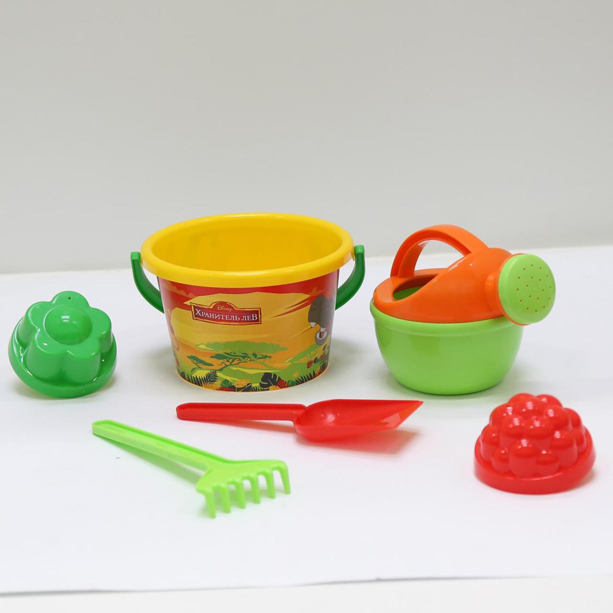 Disney Набор игрушек для песочницы Хранитель Лев №6 полесье набор для песочницы 469