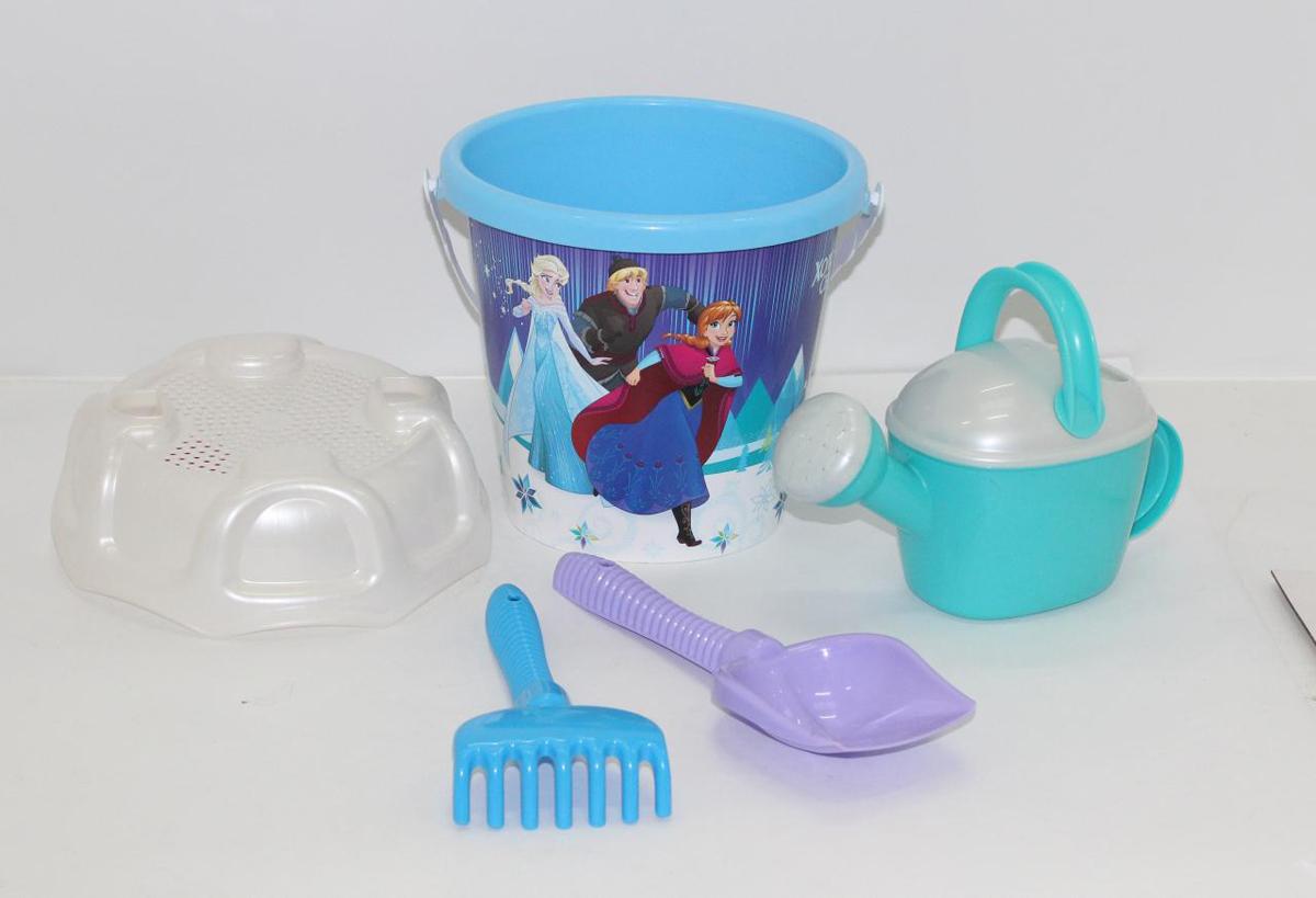 Disney Набор игрушек для песочницы Холодное сердце №15 полесье набор для песочницы 469