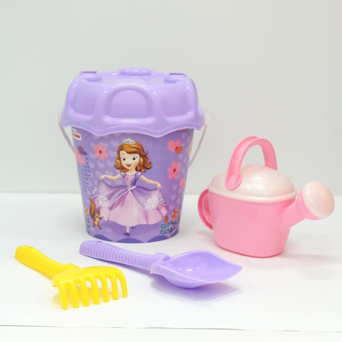 Disney Набор игрушек для песочницы София Прекрасная №3 полесье набор для песочницы 469