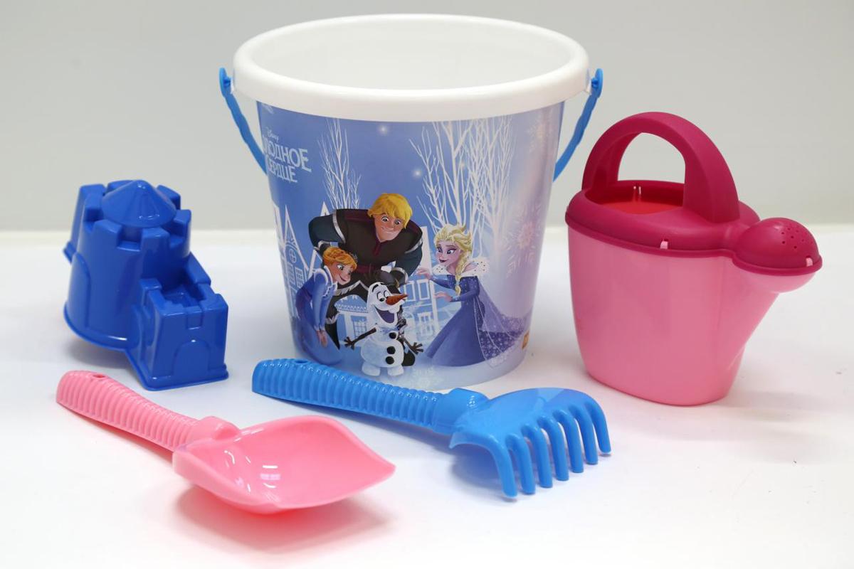 Disney Набор игрушек для песочницы Холодное сердце №13 полесье набор для песочницы 469