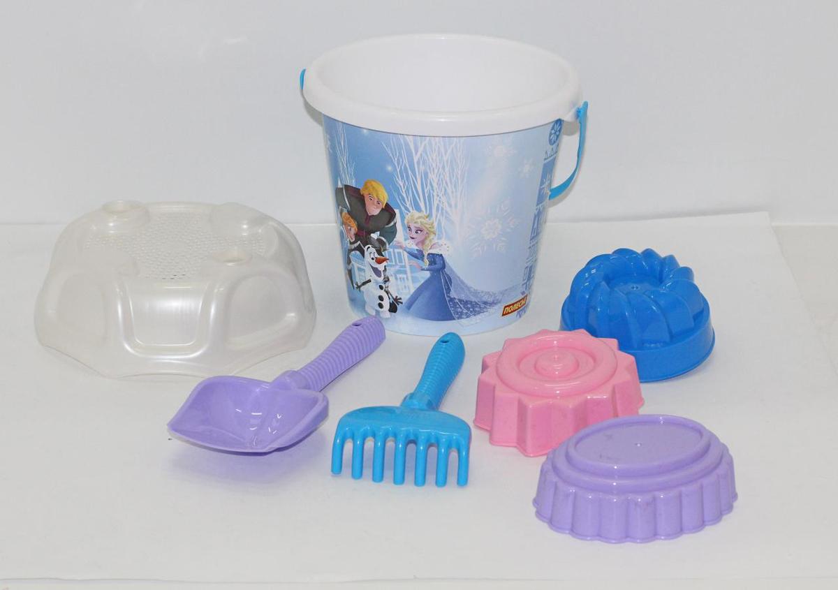 Disney Набор игрушек для песочницы Холодное сердце №14 полесье набор для песочницы 469