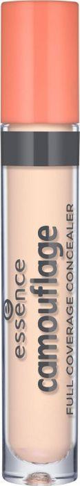 Essence Консилер Camouflage full coverage concealer nude, нюдовый т.10, 5 г21984Стойкий высокопигментированный консилер с жидкой кремовой текстурой надежно замаскирует темные круги под глазами и другие несовершенства кожи. Бодрый и свежий вид теперь гарантирован!