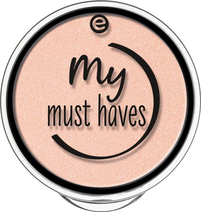 Essence Тени для век My must haves eyeshadow apricotta, абрикосовый т.10, 1,7 г тени для век essence the metals eyeshadow 06 цвет 06 rose razzle dazzle variant hex name e9bfbb