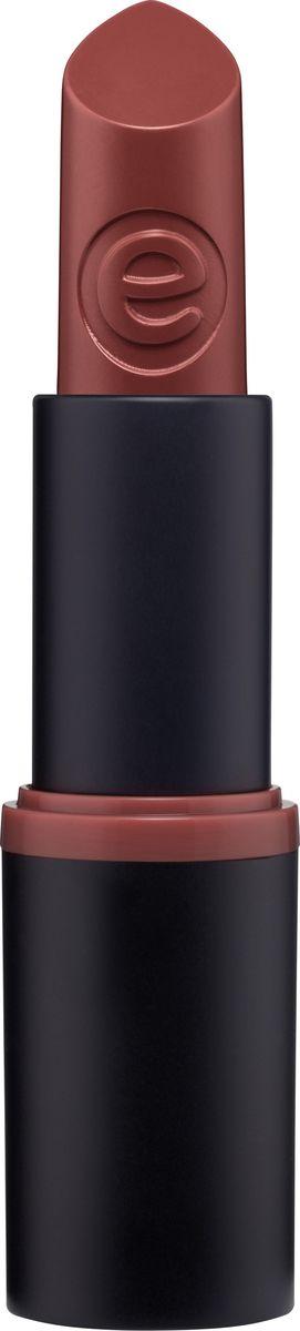 Essence Губная помада ultra last instant colour lipstick rich mahogany, махагони т.20, 3,5 г224470Кремовая текстура этой ультрастойкой помады обеспечивает плотное равномерное покрытие. Продукт не сушит губы и оставляет ощущение легкости.