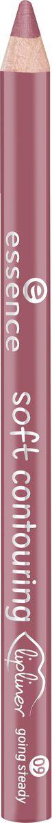 Essence Контур для губ soft contouring lipliner going steady, перламутрово-розовый т.09, 1,2 г