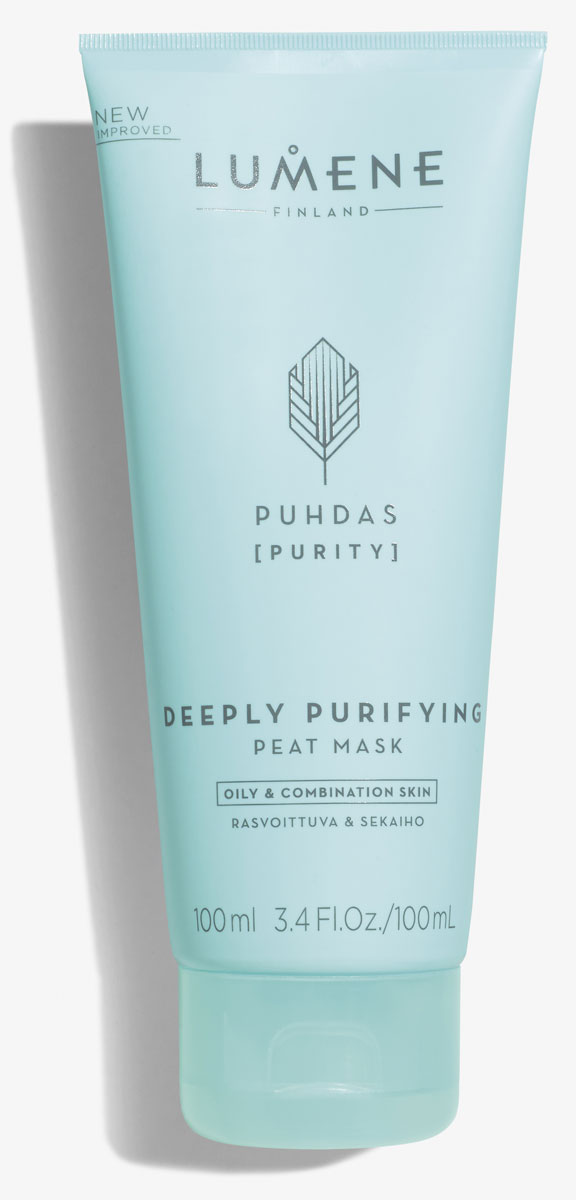 Lumene Глубоко очищающая маска с торфом Puhdas, 100 млNL79-81652Кремовая маска, заряженная силой арктического, финского торфа, поглощает излишки жира, очищает поры и восстанавливает естественное сияние кожи.
