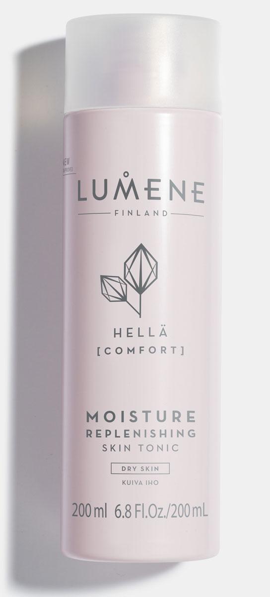 Lumene Восстанавливающий баланс влаги очищающий тоник Hella, 200 млNL79-81655Тоник для жаждущей влаги кожи превосходно завершает ритуал очищения. Мгновенно создает ощущение комфорта. Клинически доказано, что продукт восстанавливает баланс влаги кожи. Формула на основе северной брусники и чистой арктической родниковой воды.