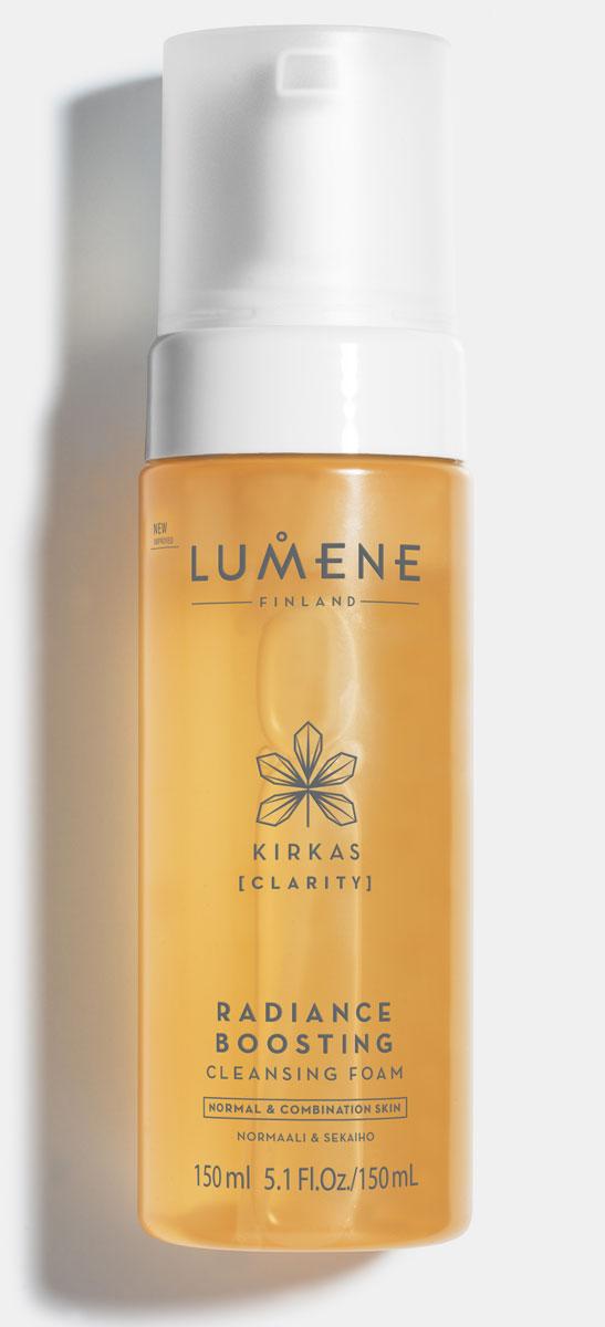 Lumene Придающая сияние очищающая пенка Kirkas, 150 млNL79-81657Придающая сияние очищающая пенка превосходно удаляет макияж и загрязнения, что делает кожу свежей и здоровой.