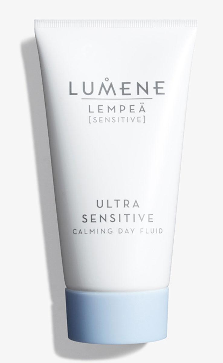 Lumene Успокаивающий дневной флюид Lempea Ultra Sensitive, 50 млNL81-81630Успокаивает даже очень чувствительную кожу, склонную к покраснениям. Уменьшает покраснения, чувство жжения и стянутости. Без раздражений и интенсивно увлажненная, кожа становится мягкой, выглядит здоровой и сияющей изнутри.