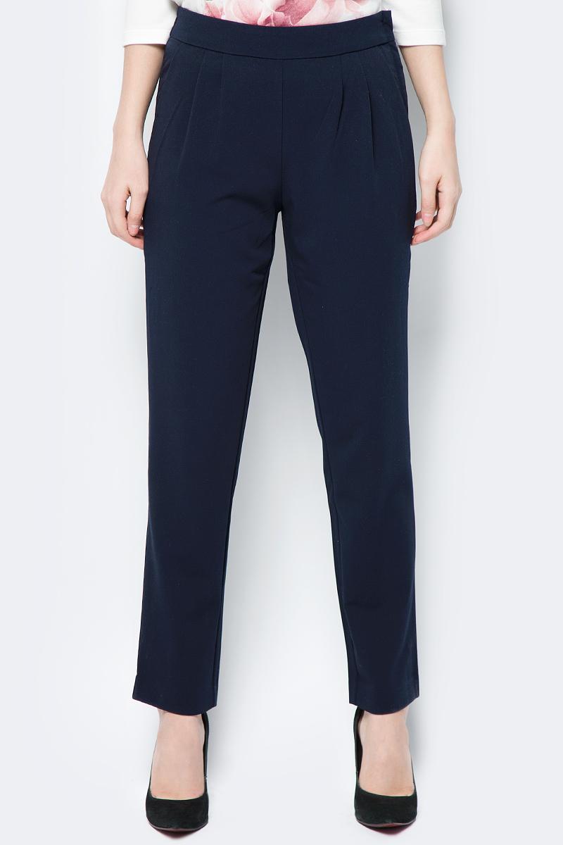 Брюки женские Sela, цвет: темно-синий. P-115/203-8112. Размер 48 брюки женские sela цвет темно синий p 115 201 8122 размер 48