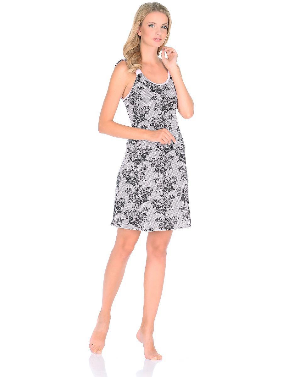 Платье домашнее женское Letto, цвет: фиолетовый. TFdm021. Размер 48TFdm021Домашнее слегка приталенное платье с двумя боковыми карманами и рукавом 3/4. Отлично подойдет для повседневного использования дома или на даче.