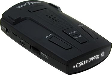 StreetStorm STR-9540EX радар-детекторSTR-9540EXРадар-детектор StreetStorm STR-9540EX GPS приемник черный