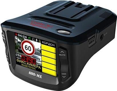 Sho-Me Combo №1 Signature радар-детектор с видеорегистратором