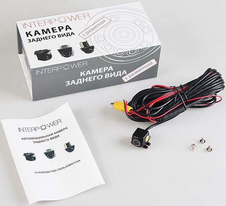 Silverstone F1 Interpower IP-840 камера заднего видаINTERPOWER IP-840Камера заднего вида Interpower IP-840 проста в установке и незаметна, что позволяет избежать ее кражи или повреждения. Разрешение в 480линий и широкий угол обзора 170° дают полную информацию всего происходящего сзади, при этом класс водонепроницаемости IP67 позволяет небеспокоиться за сохранность камеры в жестких условиях российских дорог.Поддержка системы: NTSC Размер матрицы: 1/3 Разрешение камеры 728x488 Количество телевизионных линий 480