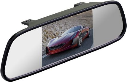 "Silverstone F1 Interpower IP Mirror 5"" зеркало заднего вида с монитором"