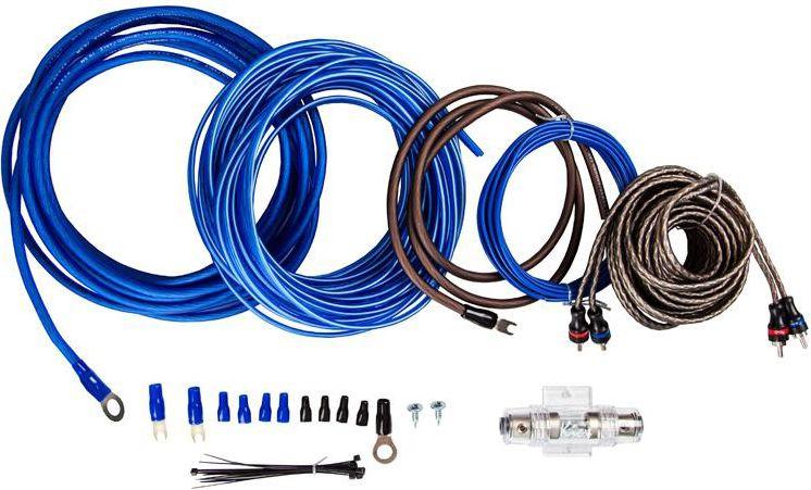 Kicx PK 28 2ch установочный комплект акустический кабель kicx scc 1612 16awg 12м прозрачный