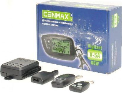 Cenmax Vigilant V-5A автосигнализация с обратной связью