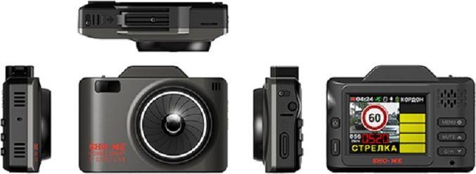 Sho-Me Combo Smart Signatureрадар-детектор с видеорегистратором SHO-ME