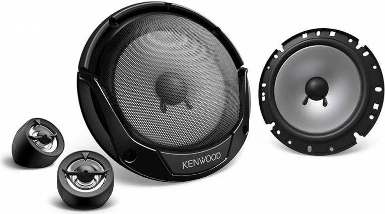 Kenwood KFC-E170P колонки автомобильныеKFC-E170PКолонки автомобильные Kenwood KFC-E170P 300Вт 92дБ 4Ом 17см (6 3/4дюйм) (ком.:2кол.) компонентные дв