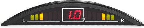 Sho-Me Y-2616N08, Black парковочный радар