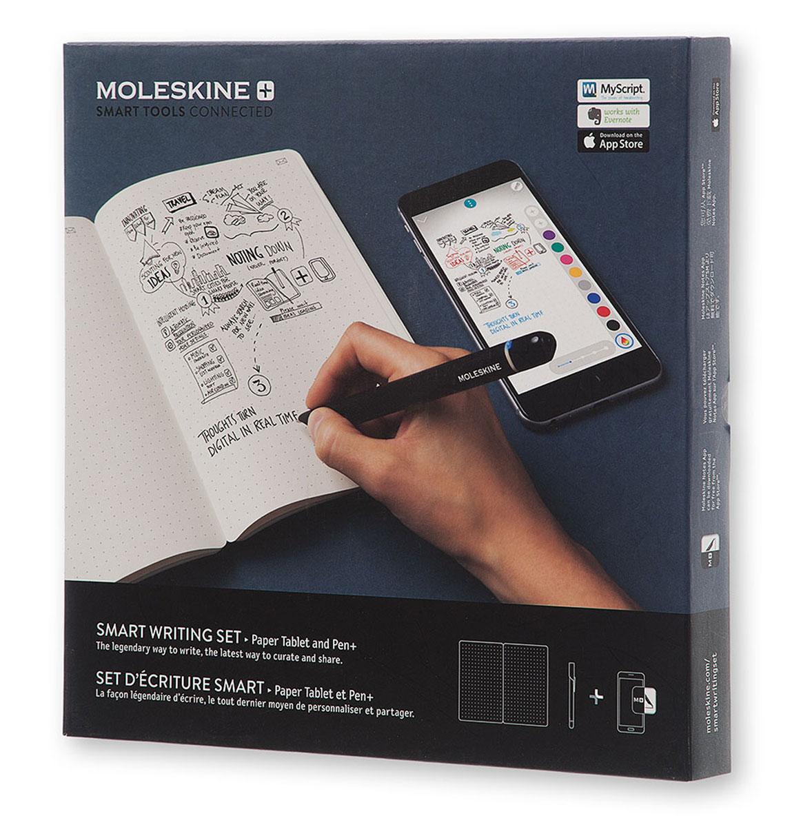 Moleskine Набор Smart Writing блокнот Paper Tablet / ручка Smart Pen+