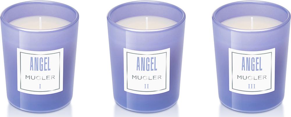 Mugler Набор свечей Angel, 3 x 70 г