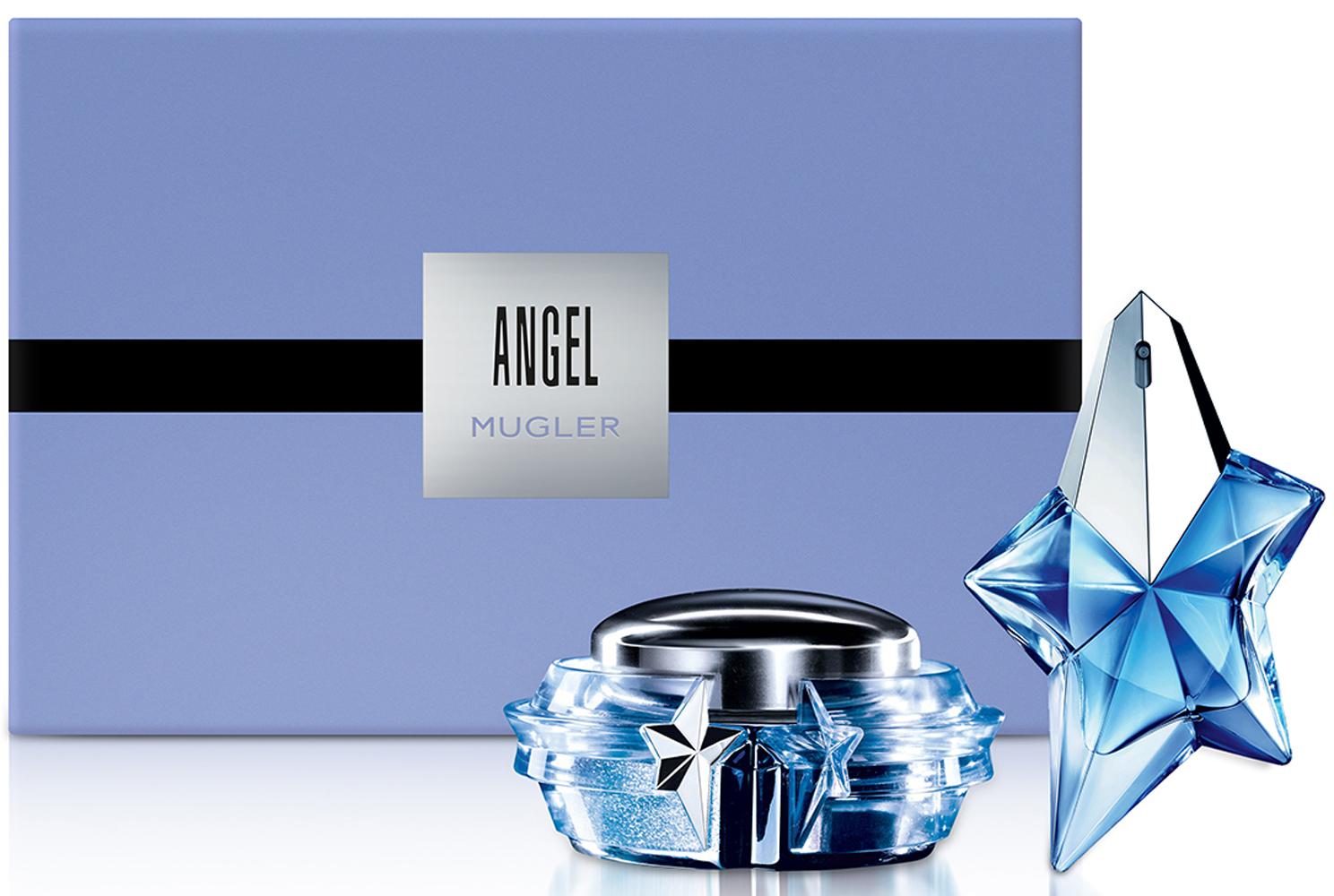 Mugler Набор Angel: Парфюмерная вода 50 мл, Крем для тела, 200 мл mugler набор angel парфюмерная вода 50 мл крем для тела 200 мл