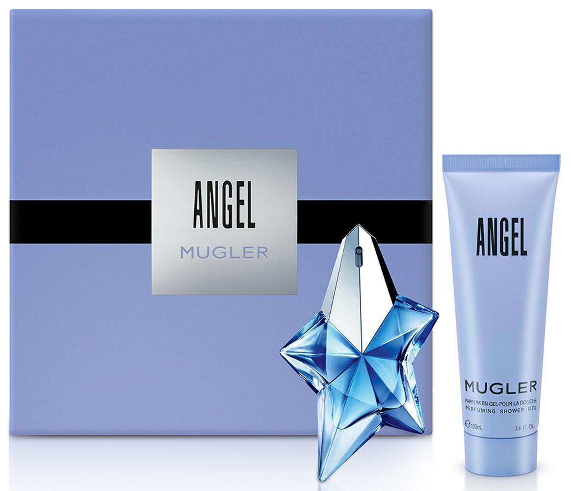 Mugler Набор Angel: Парфюмерная вода 25 мл, Гель для душа, 100 мл