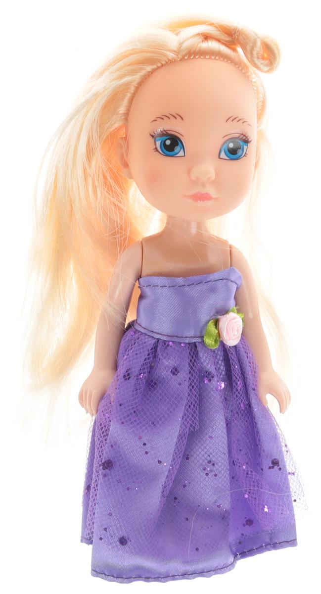 Junfa Toys Кукла Isabella цвет платья сиреневый