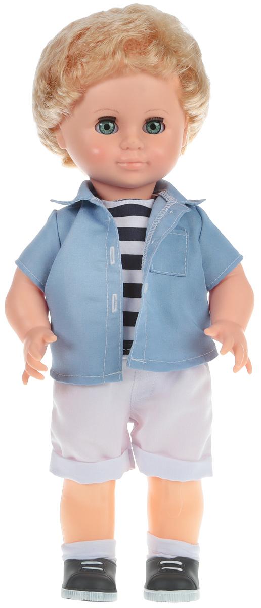 Весна Кукла Мальчик цвет рубашки голубой В3088 рубашки футболки для детей