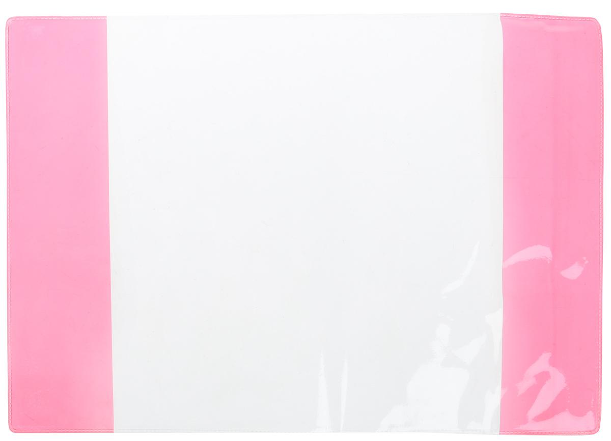 Фортуна Обложка для учебника старших классов цвет прозрачный красный 11138101113810_прозрачный, желтый, красныйФортуна Обложка для учебника старших классов цвет прозрачный красный 1113810