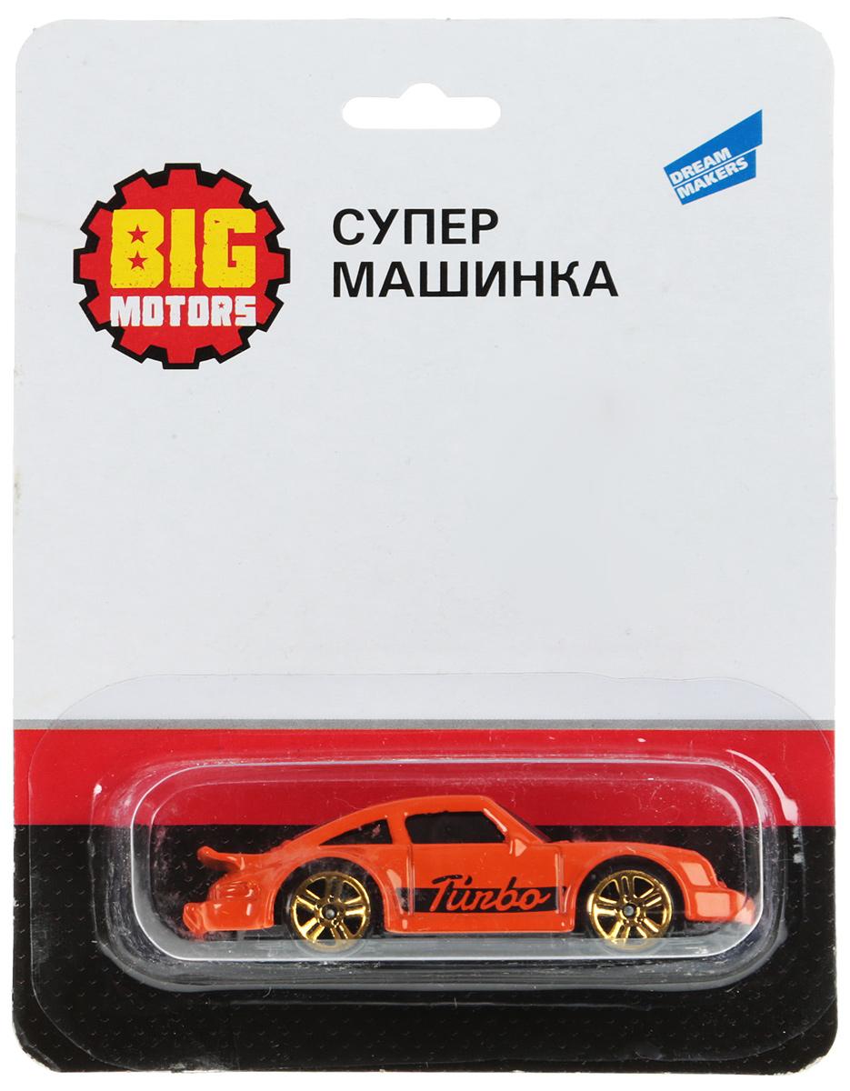 Big Motors Супер машинка цвет оранжевый