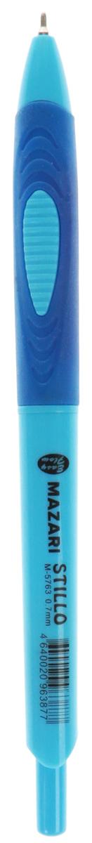 Ручка шариковая автоматическая Stillo, серия Easy Flow, чернила на масляной основе (Германия), пулевидный пишущий узел 0.7мм (Швейцария), корпус пластиковый цветной