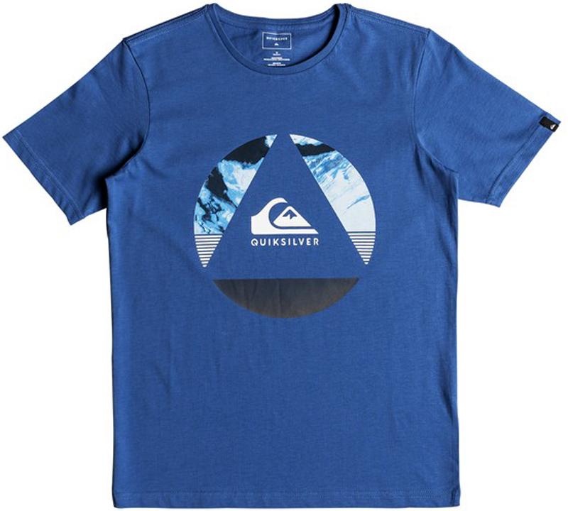 Футболка для мальчика Quiksilver, цвет: синий. EQBZT03680-BPC0. Размер 152/158EQBZT03680-BPC0